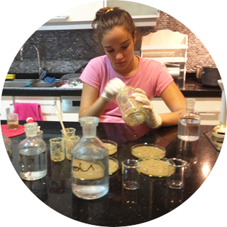 Elif developing bio-plastic